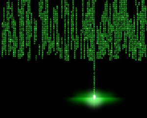 Matrix Wallpaper by Dodopod via deviantART courtesy of Creative Commons License