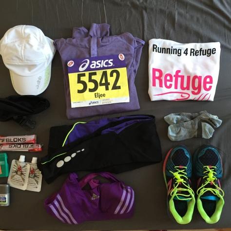 My marathon running 'plan'
