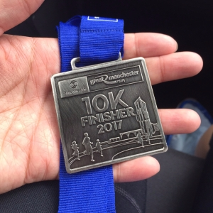 28 May 2017 - Finisher's Medal
