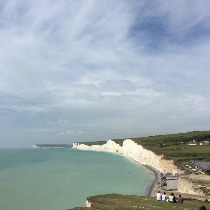 The view of the Seven Sisters